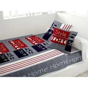 parure drap 2 personne 100 coton achat vente parure drap 2 personne 100 coton pas cher. Black Bedroom Furniture Sets. Home Design Ideas