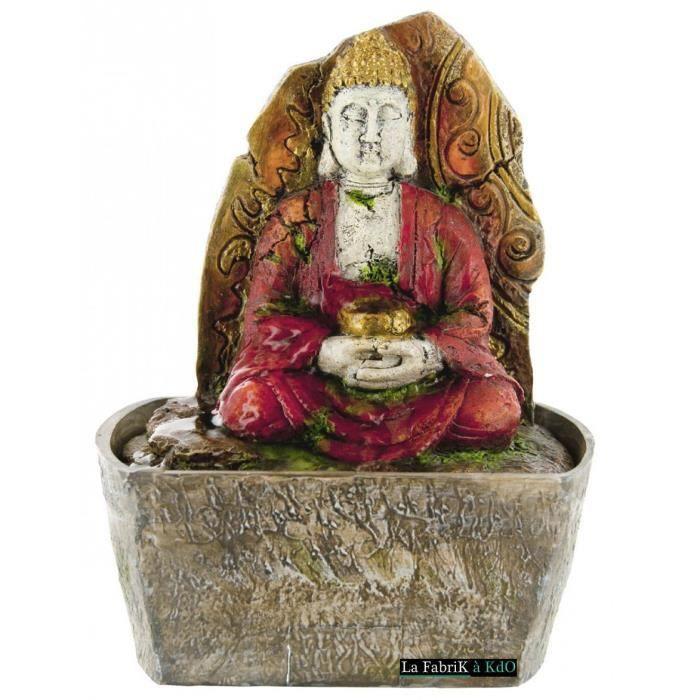Fontaine d 39 int rieur bouddha relax mur d 39 eau achat for Fontaine d interieur