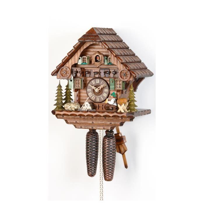 pendule coucou maison de la for t noire avec achat vente horloge pendule coucou. Black Bedroom Furniture Sets. Home Design Ideas