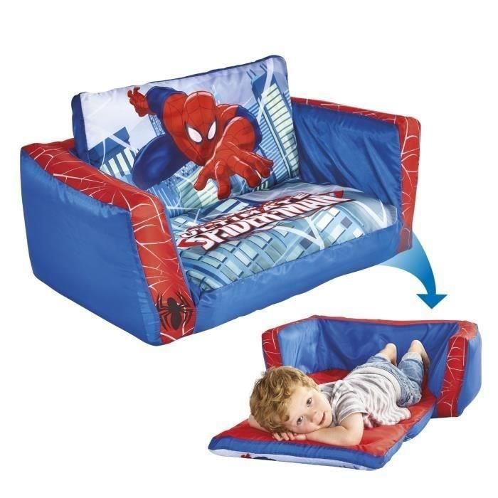 Spiderman canap lit gonflable readyroom achat vente - Cdiscount canape lit ...