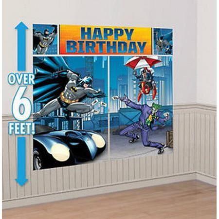 decoration murale geante super heros batman achat vente objet d coration murale cdiscount. Black Bedroom Furniture Sets. Home Design Ideas