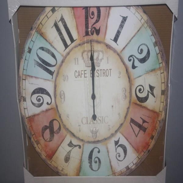 Horloge murale bistrot classic 58 cm achat vente horloge cdiscount - Achat pendule murale ...