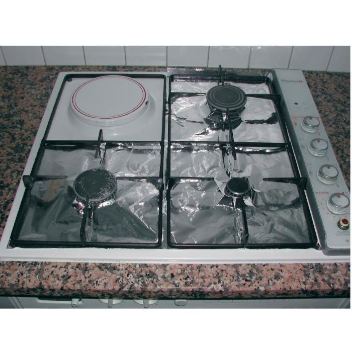Protection cuisini re jetable vendu par 16 achat - Protection table de cuisson ...