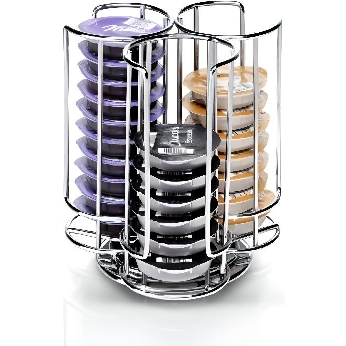 distributeur t disc support capsules rotatif achat vente distributeur capsules soldes. Black Bedroom Furniture Sets. Home Design Ideas