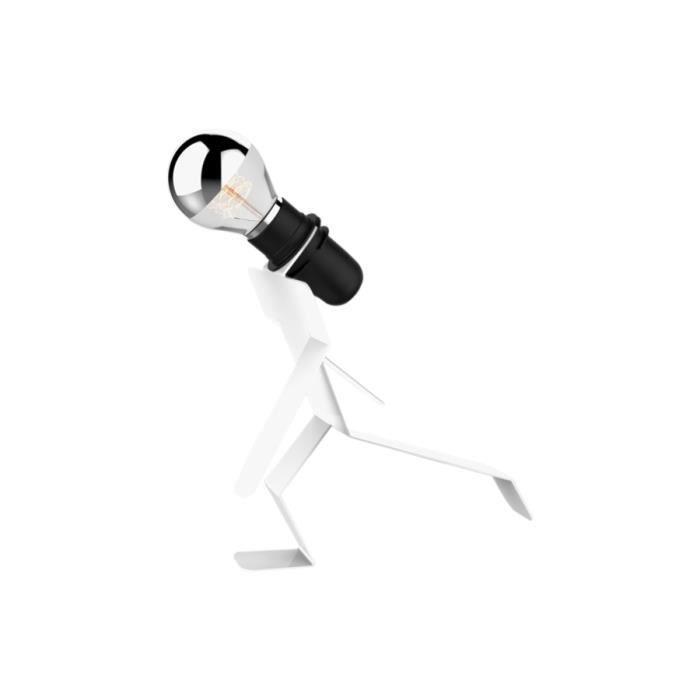Lampe design moonwalkid blanche achat vente lampe design moonwalkid bla - Lampe design blanche ...