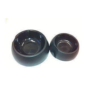 petite gamelle chien chat ronde noire 0 5l achat vente gamelle cuelle petite gamelle. Black Bedroom Furniture Sets. Home Design Ideas