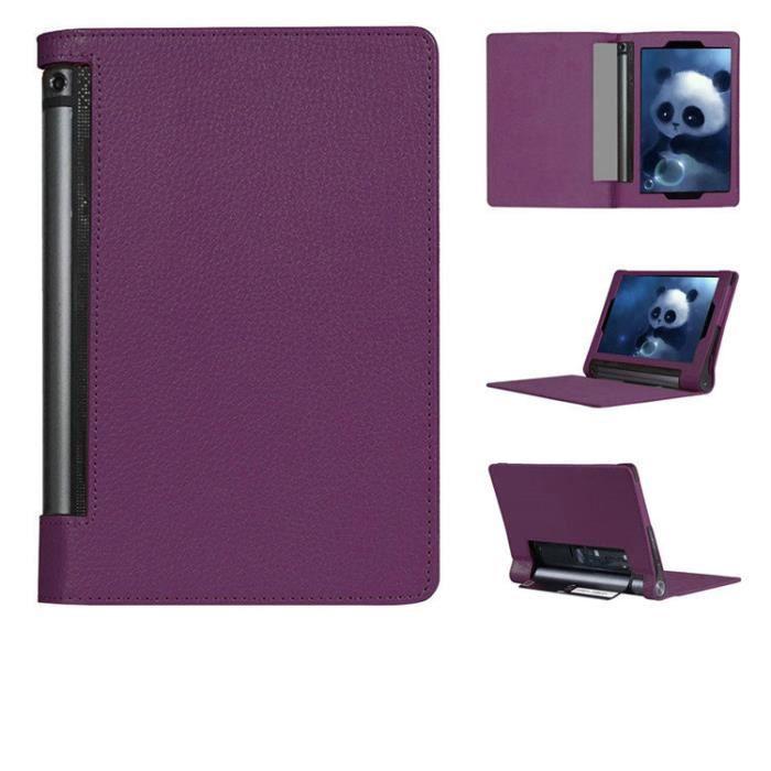 etui coque lenovo yoga tablet 2 10 violet housse prix. Black Bedroom Furniture Sets. Home Design Ideas