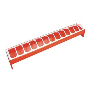 KERBL Mangeoire en PVC pour volailles - 12x75cm