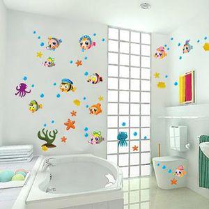 Stickers salle de bain achat vente stickers salle de - Stickers carreaux salle de bain ...