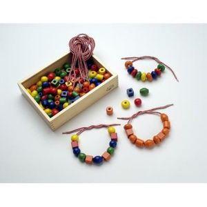 grosse perle en bois achat vente jeux et jouets pas chers. Black Bedroom Furniture Sets. Home Design Ideas