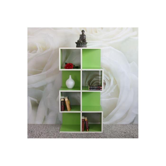biblioth que design verte r sistant l 39 eau achat vente biblioth que biblioth que design. Black Bedroom Furniture Sets. Home Design Ideas