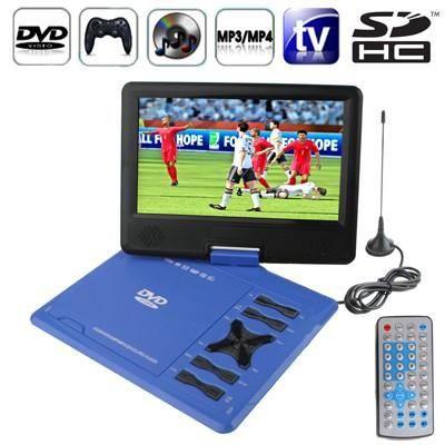 Dvd tv console de jeux bleue usb sd cran 9 5 p lecteur dvd portable avis et prix pas cher - Console de jeux portable pas cher ...