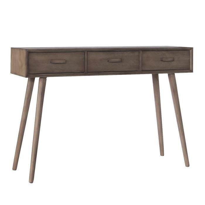 meuble commode 3 tiroirs desert 110 cm achat vente commode de chambre meuble commode 3. Black Bedroom Furniture Sets. Home Design Ideas