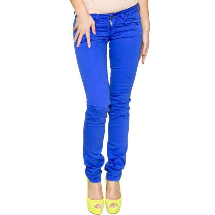 pantalon femme bleu. Black Bedroom Furniture Sets. Home Design Ideas