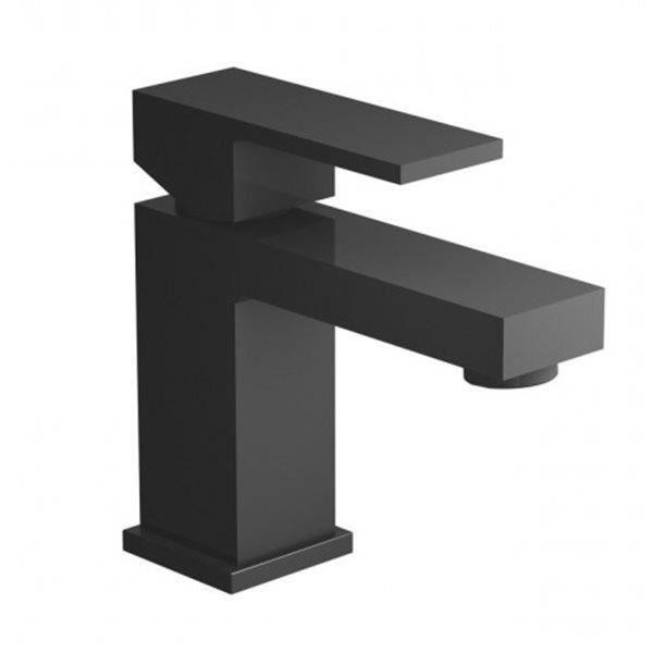 mitigeur de lavabo noir mat avec systeme de vid achat vente robinetterie mitigeur de lavabo. Black Bedroom Furniture Sets. Home Design Ideas