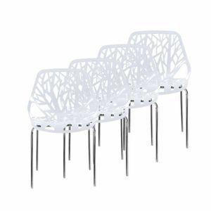 Chaise Plastique Transparente Achat Vente Chaise