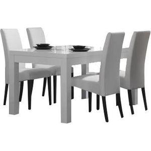 Table chaises achat vente table chaises pas cher - Chaises blanches design pas cher ...