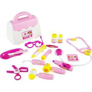 Malette infirmiere achat vente jeux et jouets pas chers - Docteur la peluche malette ...
