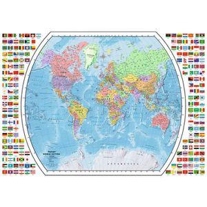 puzzle carte du monde achat vente puzzle carte du monde pas cher cdiscount. Black Bedroom Furniture Sets. Home Design Ideas
