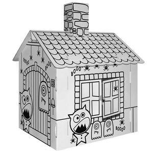 maison en carton enfant achat vente jeux et jouets pas chers. Black Bedroom Furniture Sets. Home Design Ideas