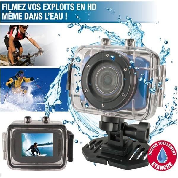 mini camera hd 32 go sport pro bleu etanche e achat vente cam ra miniature cdiscount. Black Bedroom Furniture Sets. Home Design Ideas