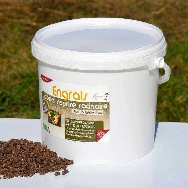 Engrais plantation sp cial reprise racinaire 4 kg npk 3 for Engrais 10 10 10