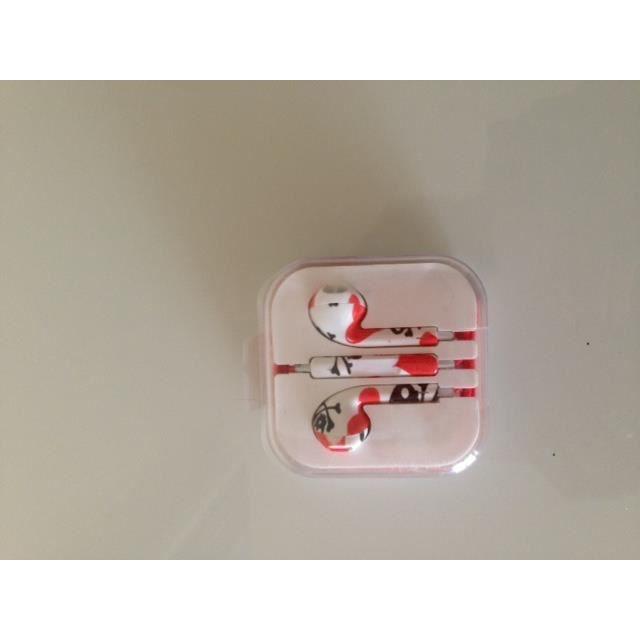 ecouteur earpods pour iphone 5 compatible galemen achat. Black Bedroom Furniture Sets. Home Design Ideas