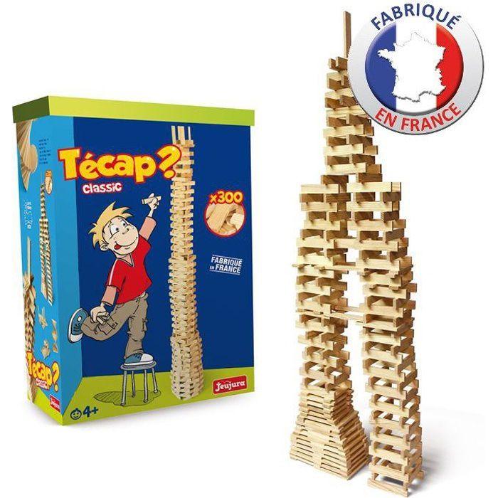 Jeujura tecap classic 300 pi ces en bois achat vente assemblage construction cdiscount for Livre construction bois