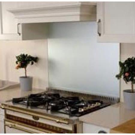 luisina fond de hotte verre 600x750 argente achat vente credence luisina fond de hotte. Black Bedroom Furniture Sets. Home Design Ideas
