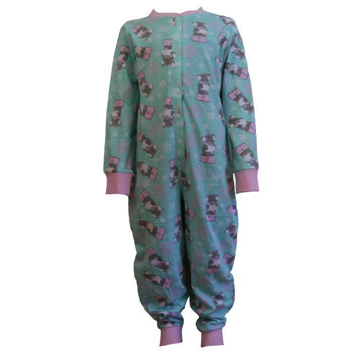 grenouill re enfant fille coton pyjama motif tatty teddy. Black Bedroom Furniture Sets. Home Design Ideas