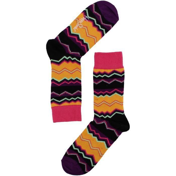 Happy Socks Chaussettes TE01 Bleu Bleu - Achat / Vente chaussettes ...