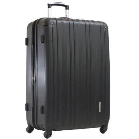 valise rigide 4 roulettes 70 cm noir achat vente. Black Bedroom Furniture Sets. Home Design Ideas