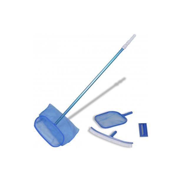 Ce kit de nettoyage pour piscine est parfait pour enlever les débris