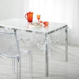 nappe plastique transparente achat vente nappe plastique transparente pas cher cdiscount. Black Bedroom Furniture Sets. Home Design Ideas