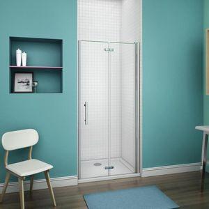 porte de douche pliante 80 cm achat vente porte de douche pliante 80 cm pas cher cdiscount. Black Bedroom Furniture Sets. Home Design Ideas