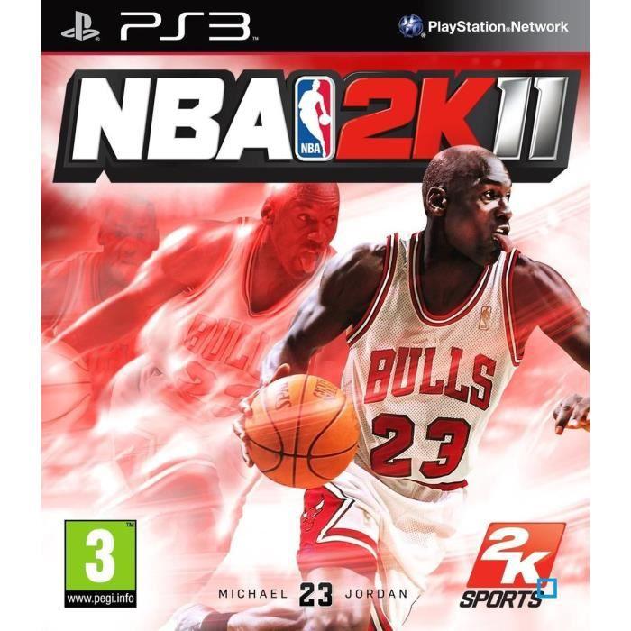 JEU PS3 NBA 2K11 / PS3