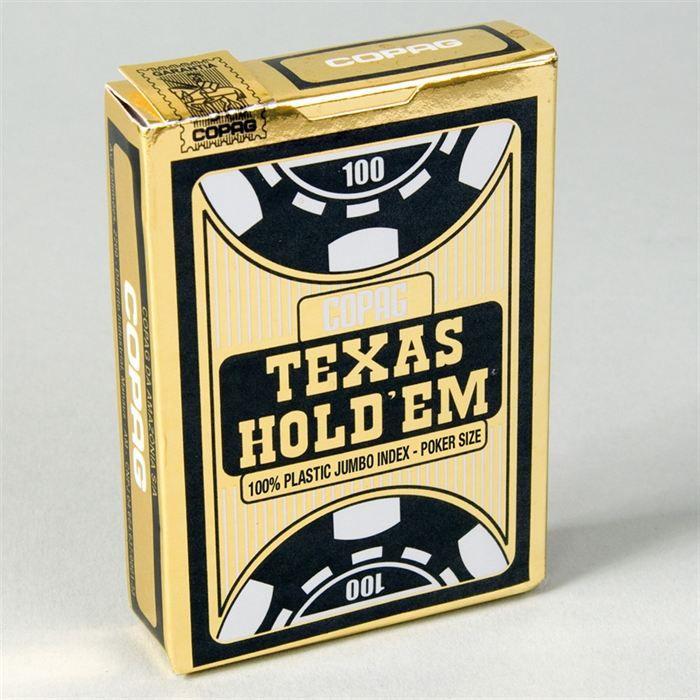 CARTES DE JEU Copag Jeu de Poker Texas Hold'em