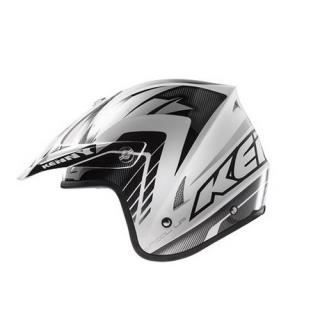 casque kenny trial up graphic gris achat vente casque moto scooter casque kenny trial up. Black Bedroom Furniture Sets. Home Design Ideas