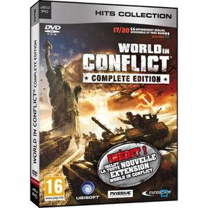 JEU PC WORLD IN CONFLICT COMPLETE EDITION / Jeu PC