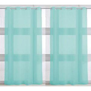 Paire de Voilages 135x240cm PORTOFINO BLUE