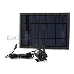 pompe solaire pour piscine achat vente pompe solaire pour piscine pas cher cdiscount. Black Bedroom Furniture Sets. Home Design Ideas
