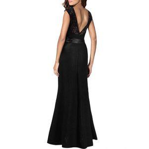 robe noir manche longue transparente achat vente robe noir manche longue transparente pas. Black Bedroom Furniture Sets. Home Design Ideas