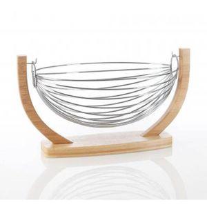 corbeille de fruit en bois achat vente corbeille de. Black Bedroom Furniture Sets. Home Design Ideas