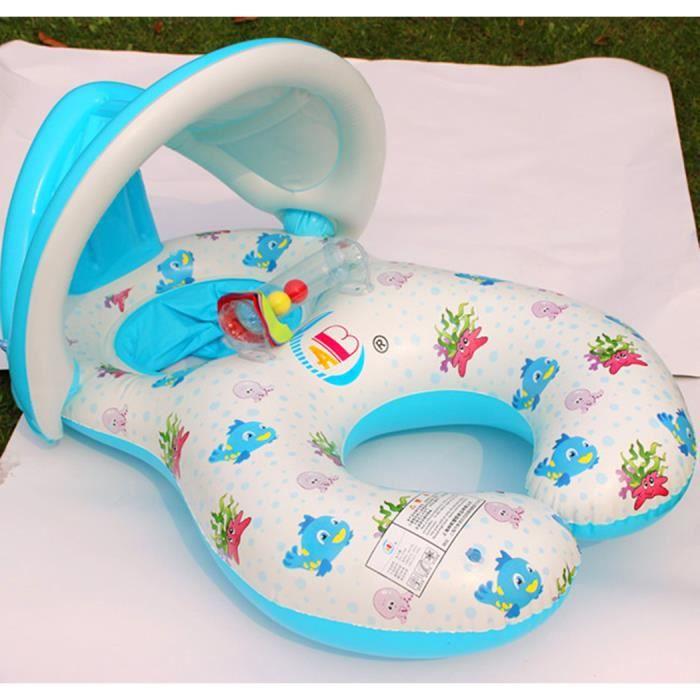 abc bou e gonflable collier de natation avec parasol pour. Black Bedroom Furniture Sets. Home Design Ideas