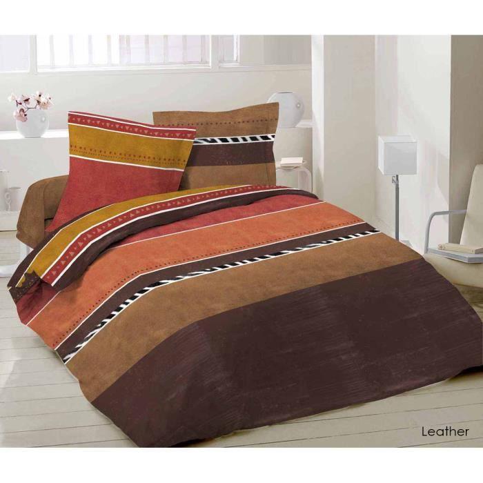 parure de lit housse de couette 100 coton 220x240 achat vente housse de couette cdiscount. Black Bedroom Furniture Sets. Home Design Ideas