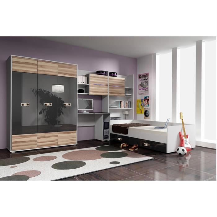 Cdiscount chambre complete maison design for Achat chambre complete