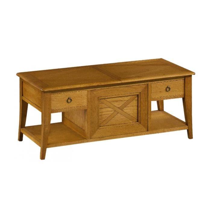 Table bar ch ne avec plateau coulissant achat vente mange debout table bar ch ne avec platea - Meuble tv avec plateau coulissant ...