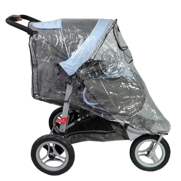 habillage de pluie pour poussette 3 roues h8 voir la. Black Bedroom Furniture Sets. Home Design Ideas