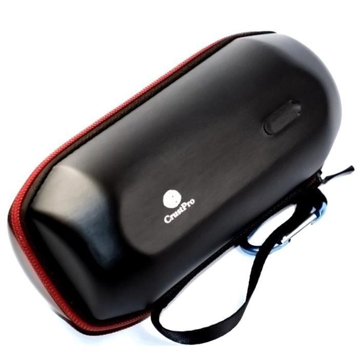 Haut parleur portable pu housse sac box organisateur pour for Housse jbl pulse 3