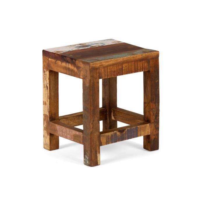 petite table d 39 appoint alpaca 29x25 en manguier achat vente table de cuisine la nature. Black Bedroom Furniture Sets. Home Design Ideas